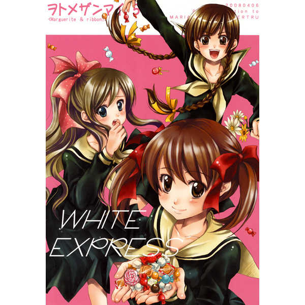 WHITE EXPRESS -ヲトメザンマイ5- [恥骨マニア(剛田ナギ)] マリア様がみてる