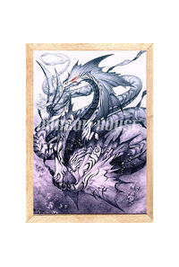 シードラゴン 枠入りポスター