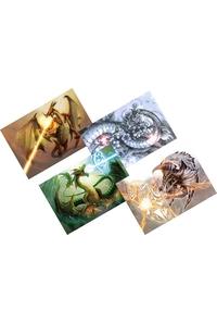 ドラゴン&クリーチャーポストカード4枚セット