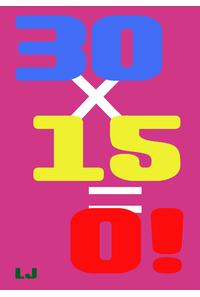 30×15=0!