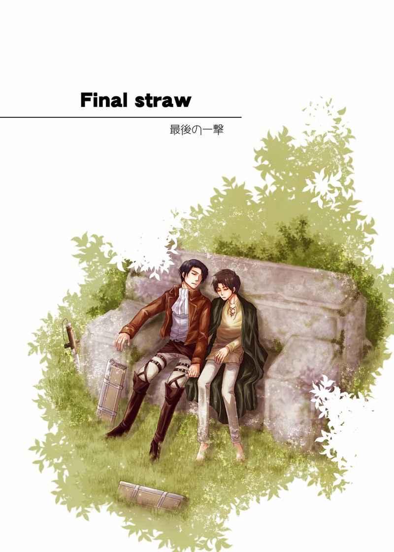Final straw 最後の一撃