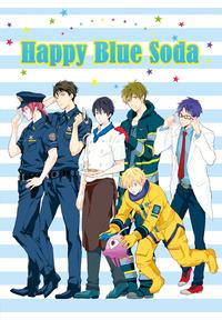 Happy Blue Soda
