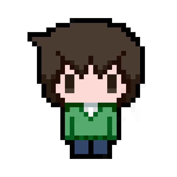 カゲプロ ドット絵アクリルストラップ 【ハルカ】