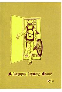 A happy heavy door