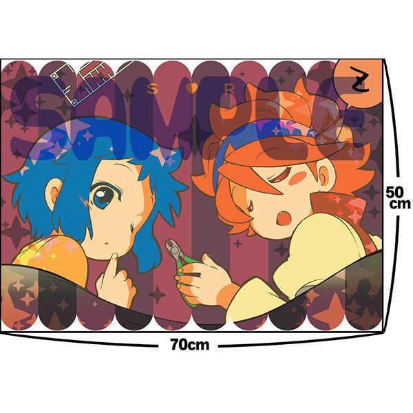 セイ&レイジひざ掛けブランケット [×-GAME!(もち子)] ガンダムビルドファイターズ