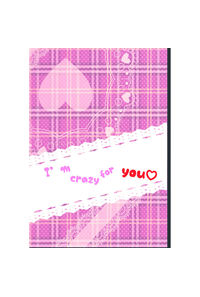 I'm crazy for you.