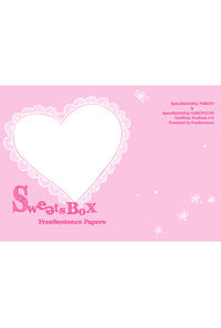 FreeSentence Papers Sweets Box