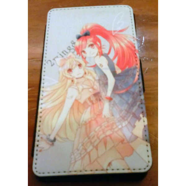 2Wings 携帯レザーケース for Xperia Z3 [弥生如月亭(ふのこ)] アイカツ!