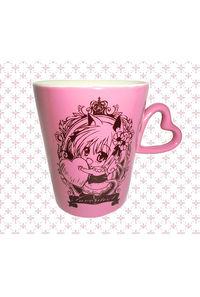猫耳っ娘ハートマグカップ