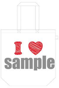 「I-bag」シチュエーショントートバッグ(I LOVE・・・Ver)