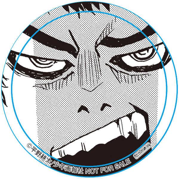 【期間限定受注】缶バッジ_ドリフターズ 菅野直2 [ツクルノモリ(平野耕太)] ドリフターズ