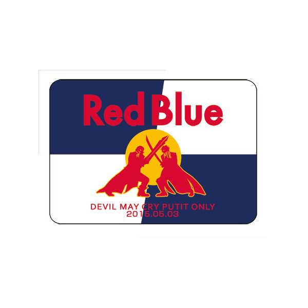 RedBlue記念マウスパッド [高飛(黒井きりん)] デビルメイクライ