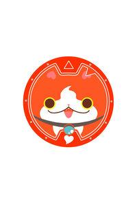 ジバニャン/妖怪ウォッチメダル風缶バッジ