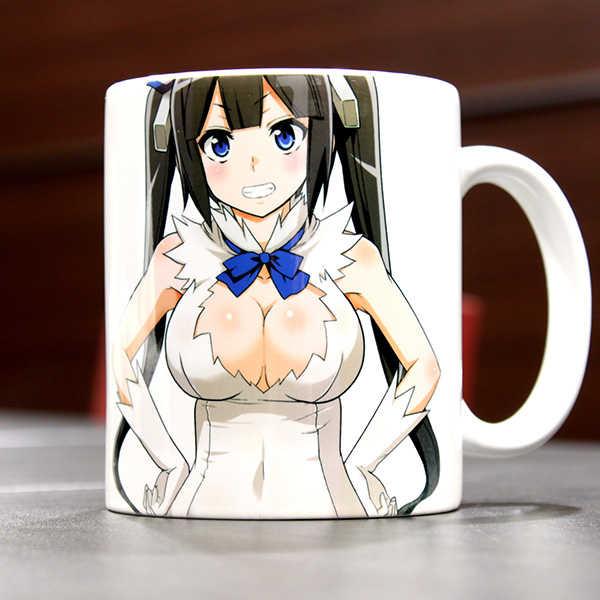ヘスティアマグカップ [富士浅間堂(あおいまなぶ)] ダンジョンに出会いを求めるのは間違っているだろうか