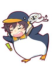 ペンギンレオキーホルダー
