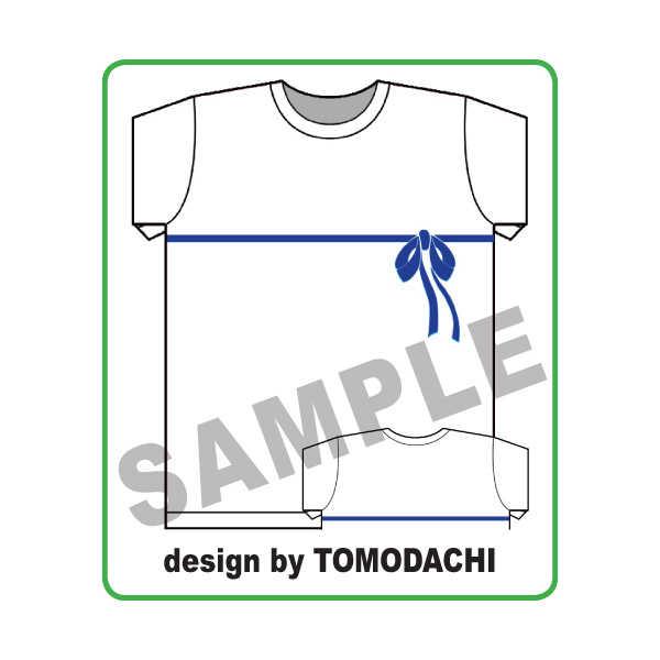 ダンジョンに出合いを求めるのは間違っているだろうか・ヘスティアリボンTシャツMサイズ [トモダチティーシャッツ Tomodachi T shirT(Tomodachi T shirT)] ダンジョンに出会いを求めるのは間違っているだろうか