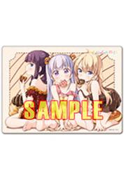 NEW GAME! マウスパッド(青葉・ひふみ・コウ) [サインショップO2(なし)] NEW GAME!