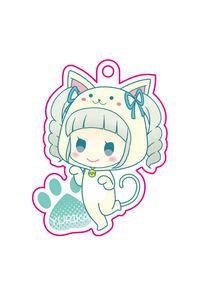 ユリカ(白猫着ぐるみ)アクリルキーホルダー