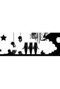 美術館OPPテープ(白×黒)