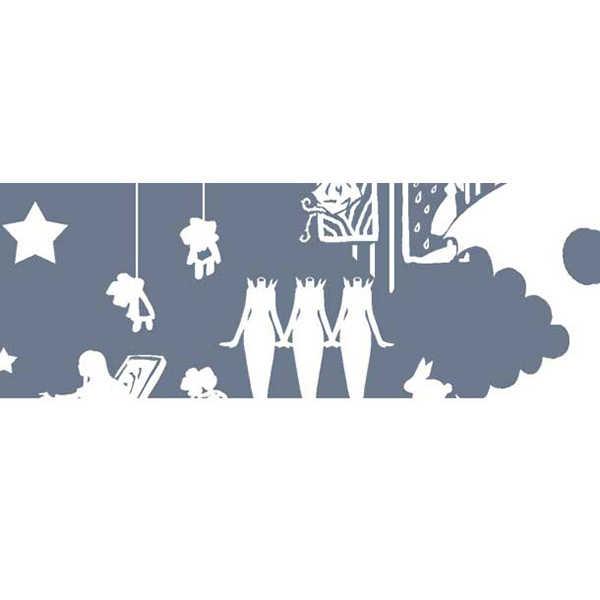美術館OPPテープ(透明×白) [裏aiueo(manzi)] Ib