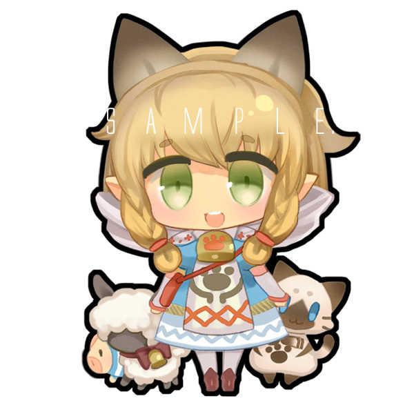 ミニクッション【ネコ嬢】 [coto(RAW)] モンスターハンター
