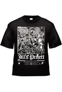 Bloody Chronicle x Jill's Project 20080330(黒白TシャツXLサイズ)