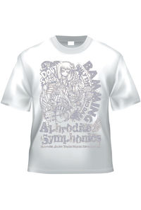 Bamming x Aphrodite Symphonics(白銀TシャツXLサイズ)