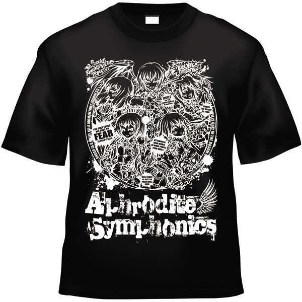 Fear x Aphrodite Symphonics(黒白TシャツLサイズ) [[Aphrodite Symphonics] & [kapparecords](Aphrodite Symphonics)] 東方Project