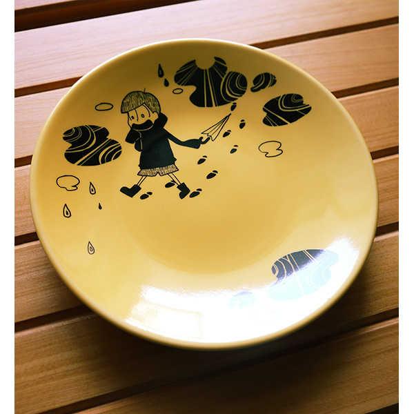 陶器イラストプレート【十四松】