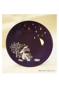陶器イラストプレート【一松】