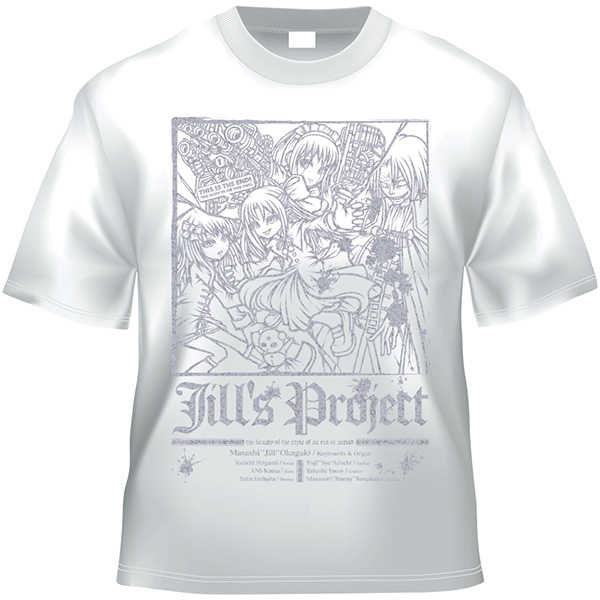 Bloody Chronicle x Jill's Project 20080330(白銀TシャツMサイズ)