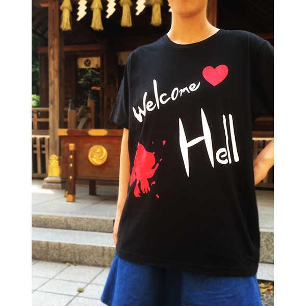 ヘカーティアのWelcomeHellTシャツ【Mサイズ】