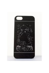 幽々子iPhoneケース/5/5s/SE/黒