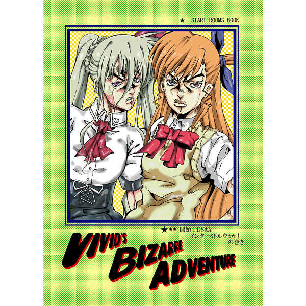 VIVID'S BIZARRE ADVENTURE [START ROOMS(たかぴょし)] 魔法少女リリカルなのは