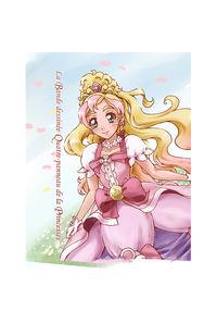 La Bande dessinee Quatre-panneau de la Princesses