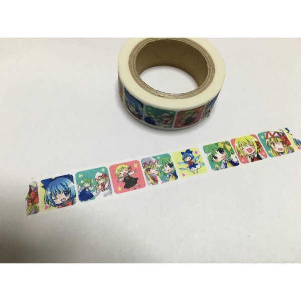 だいちるーみありりーマスキングテープ [人工生物販売店(アオ)] 東方Project