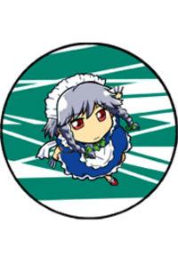 東方缶バッチ07(咲夜2)