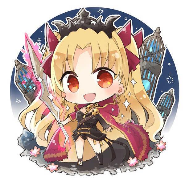 エレシュキガルアクリルキーホルダー [Felicia(塩葛餅)] Fate/Grand Order
