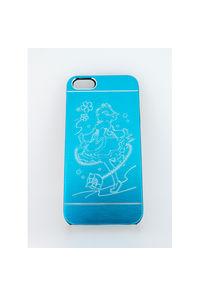 レムiPhone5/5s/SEケース青