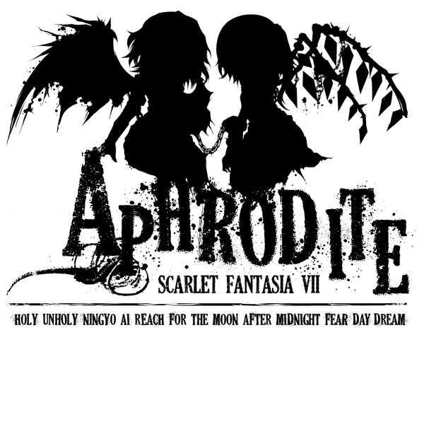 Aphrodite -SCARLET FANTASIA VII- (白赤TシャツXLサイズ)
