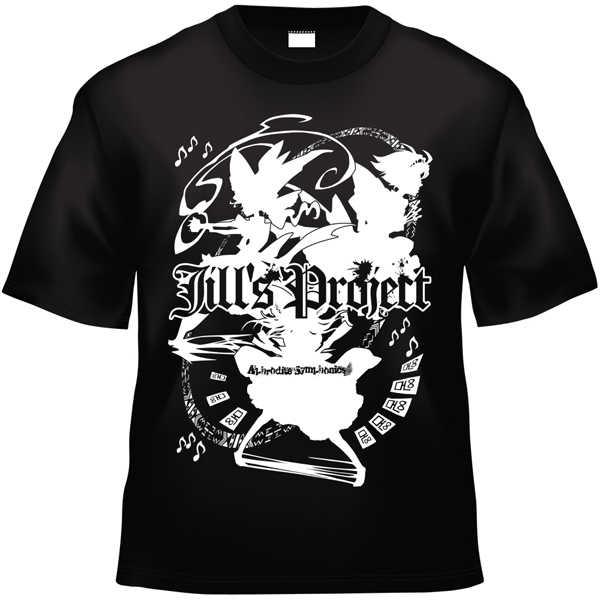 Jill's Project x Project Shrine Maiden (黒白TシャツXXLサイズ)