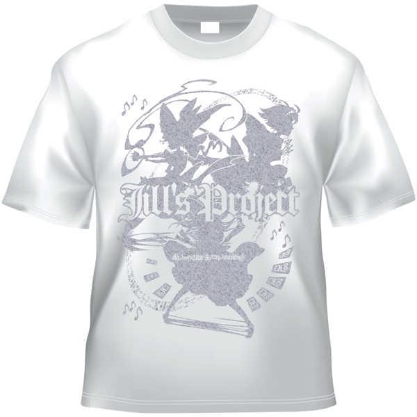 Jill's Project x Project Shrine Maiden (白銀TシャツLサイズ)