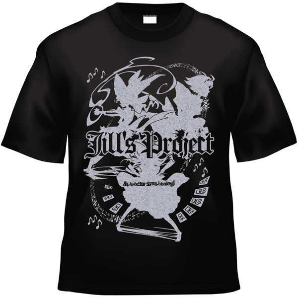 Jill's Project x Project Shrine Maiden (黒銀TシャツMサイズ)