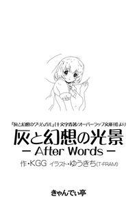 灰と幻想の光景 -After Words-