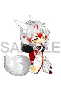 アクリルキーホルダー 妖狐