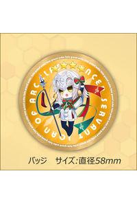 Fate/Grand Order FGO ジャンヌ・ダルク・オルタ・サンタ・リリィ ランサー バッジver.b