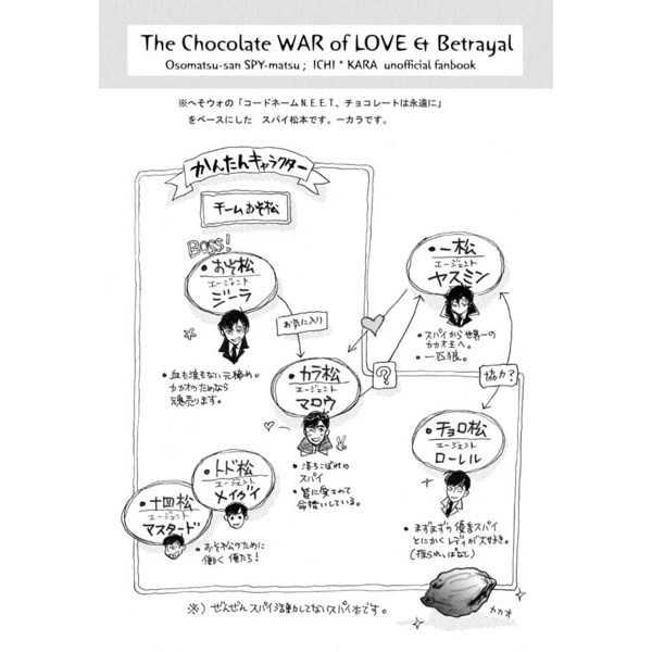 愛と裏切りのチョコレート戦争