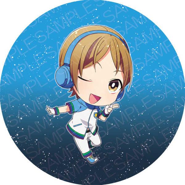 KING OF PRISM缶キーホルダー(速水ヒロ)