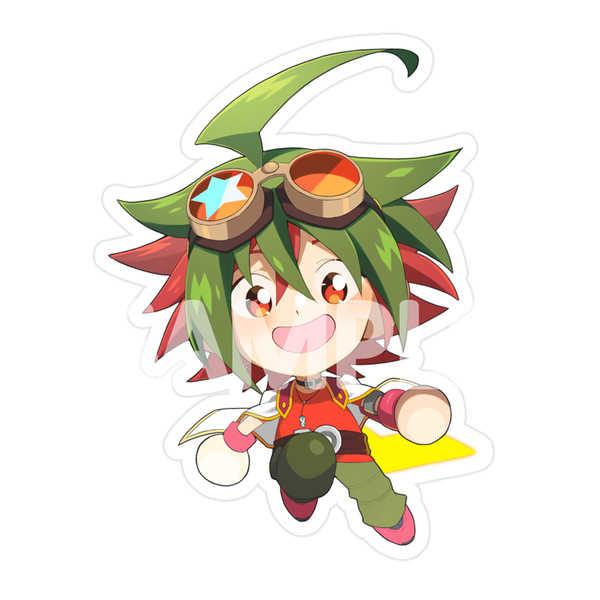 榊遊矢アクリルキーホルダー [HYUU(hyuu)] 遊戯王