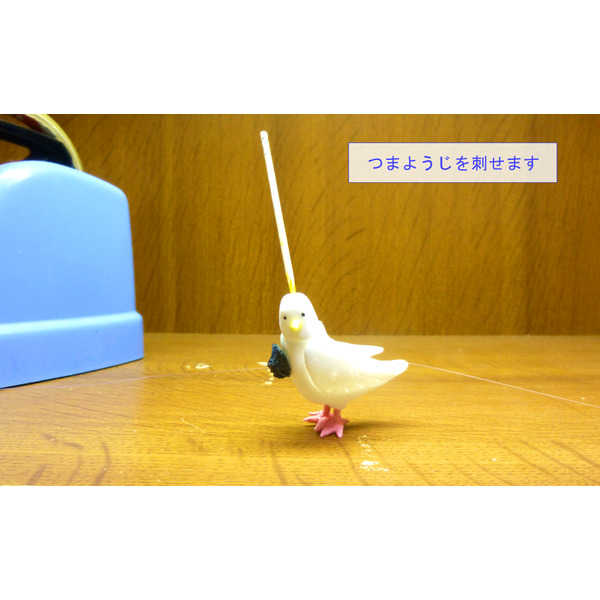 レジン製ハンドメイドフィギュア 物部ハト